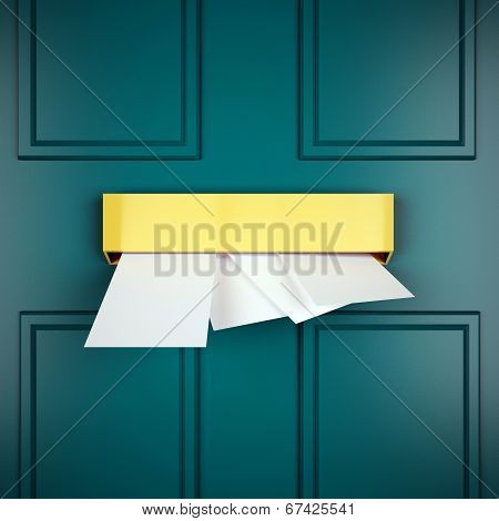 Mail Letters Represents Sent Communicate And Post