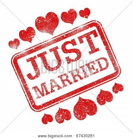 Just Married Means Tenderness Devotion And Wed