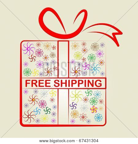 Shipping Free Represents With Our Compliments And Consumer