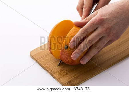 How best to cut a mango?