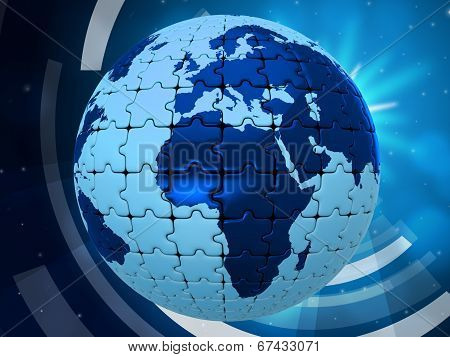 World Background Indicates Backgrounds Template And Earth