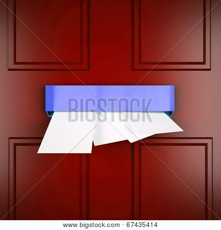 Mail Letters Means Send Post And Correspondence