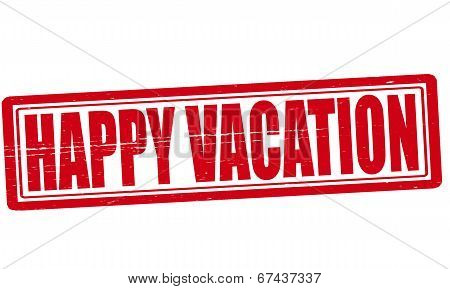 Happy Vacation