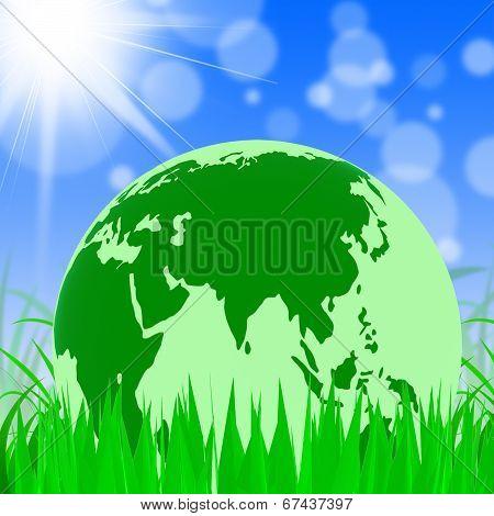 Nature Global Represents Trees Environmental And Earth