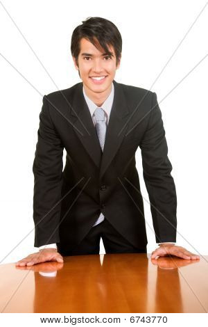 Business Man Isolated