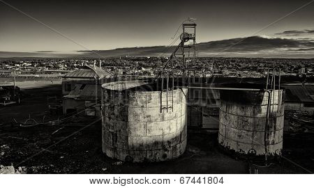 Derelict mine workings
