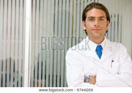 Doctor In A Hospital