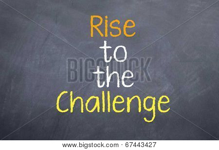 rise to the challenge