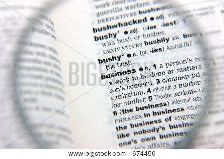 Definition Of Business