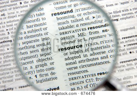 Definition Of Resource