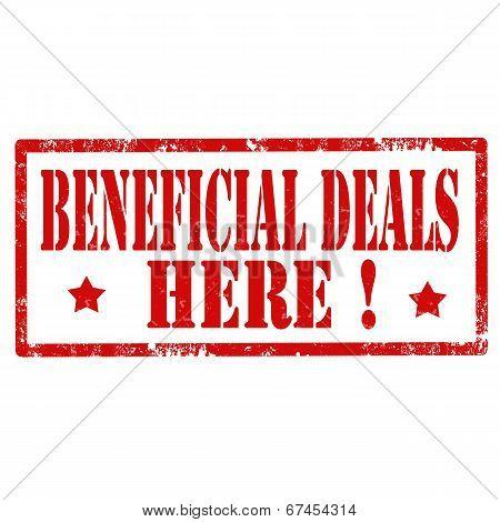 Beneficial Deals-stamp