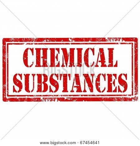 Chemical Substances-stamp