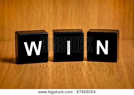 Win Word On Black Block