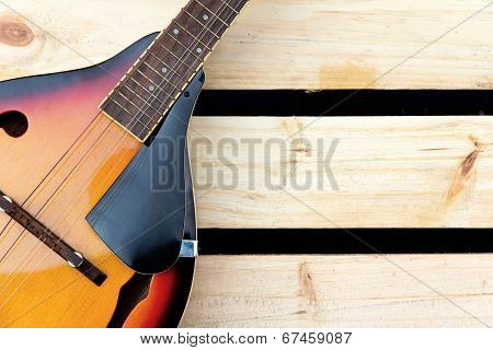 mandolin background concept