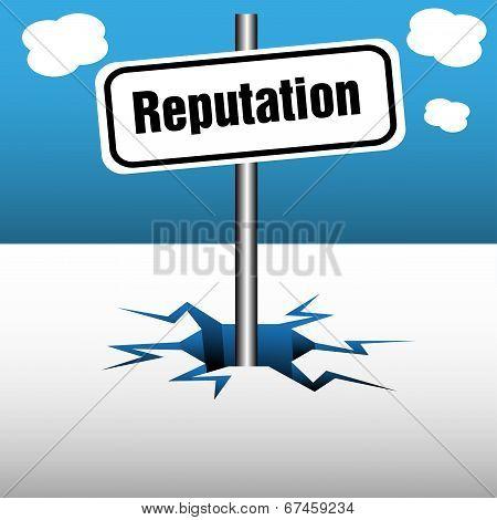 Reputation plate