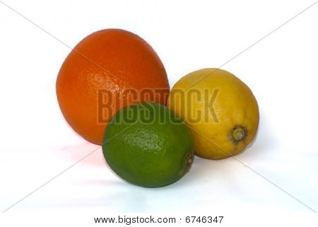 Colorful Citrus Fruits
