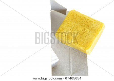 Chicken bouillon stock cube