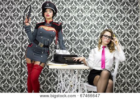 Military Boss And Sexy Secretary