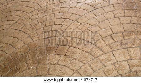 Curved Sidewalk Tile