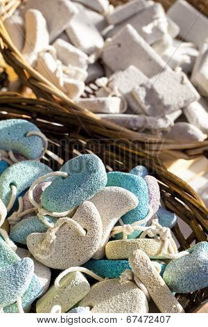 Pumice Stone Suvenirs From Kos Island, Greece