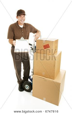 Mover - Sign For Delivery