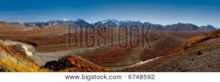 Denali National Park Polychrome Pass