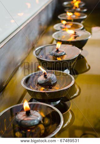 Buddish Oil Lamp