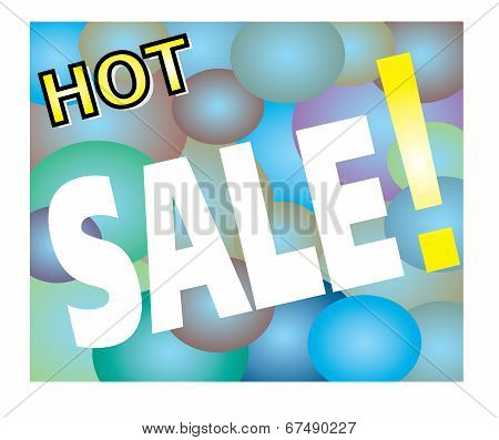 Hot Sale Promotion Label
