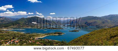 Rama Lake (Ramsko Jezero) In Bosnia-herzegovina
