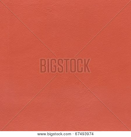Red Wall Background Gives A Harmonic Pattern