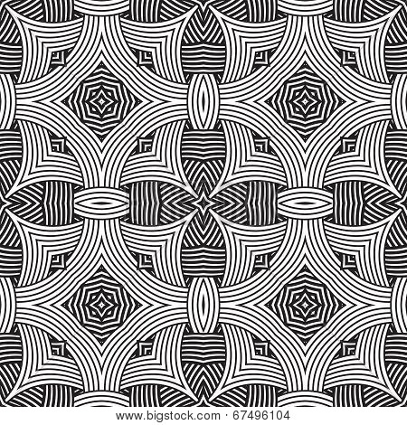 decorative modern geometric seamless pattern
