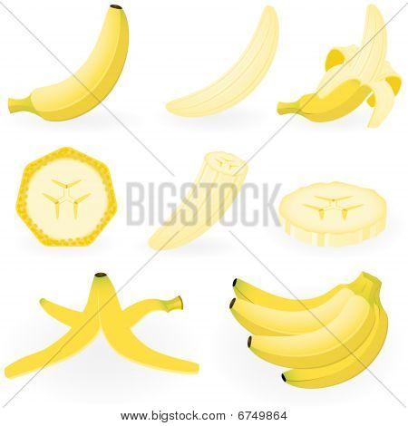 Icon Set Banana