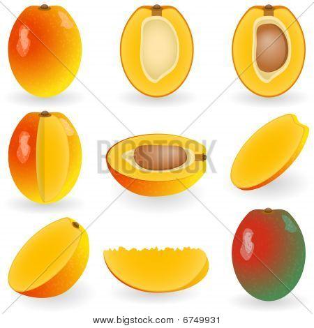 Icon Set Mango