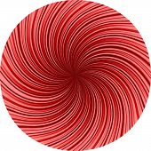 foto of divergent  - Simple vector background of striped texture diverging from the center of the circle - JPG