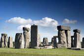 stock photo of stonehenge  - stonehenge ancient stone cirle in wiltshire england - JPG