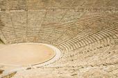 image of epidavros  - Ancient theater in Epidaurus Greece - JPG