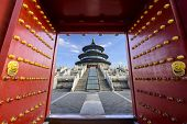 stock photo of heavens gate  - Beijing - JPG