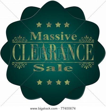 Massive Clearance Sale