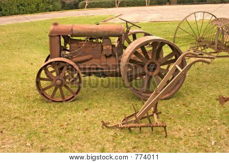 antique farming equipment