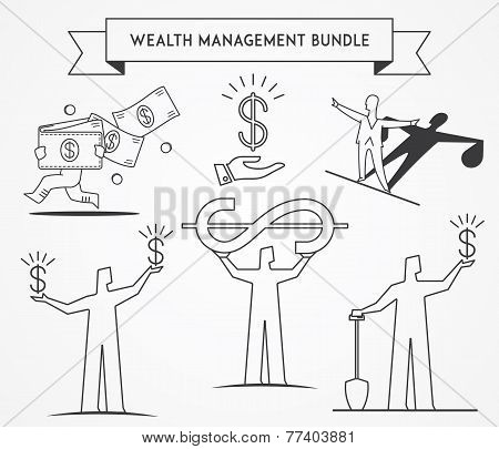 Bundle Wealth Managment Black On White