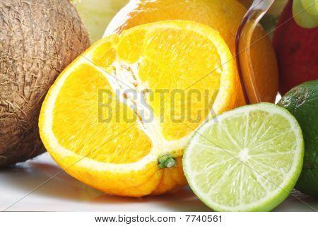 Naranja y limón