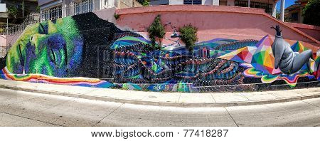Valparaiso Dream Art Panorama