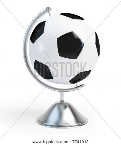globe football sign