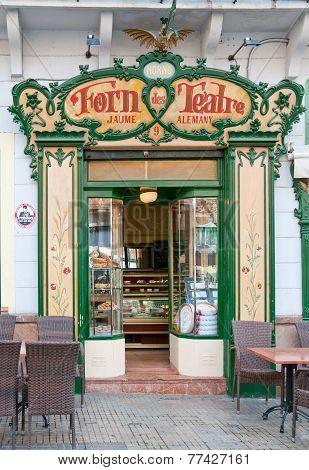 Forn des Teatre cafe front