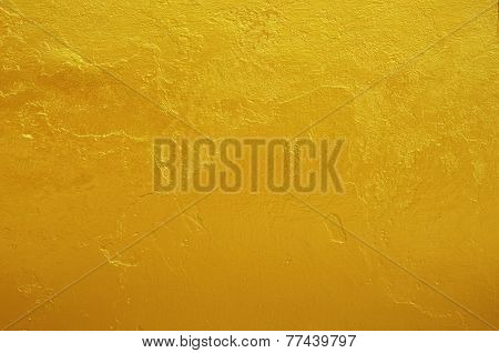 Yellow Gold Texture Background