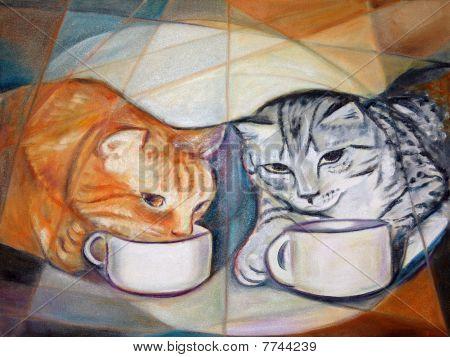 Coffee Break Cats