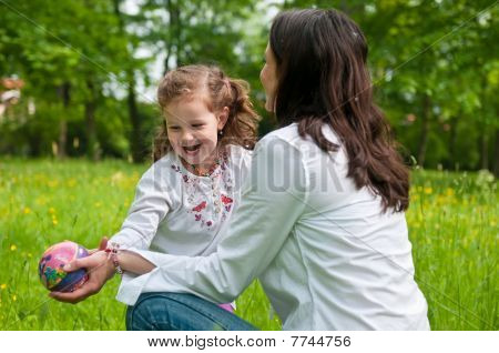 Pleasure - Mother Spending Time With Her Child