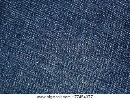 Texture of blue denim