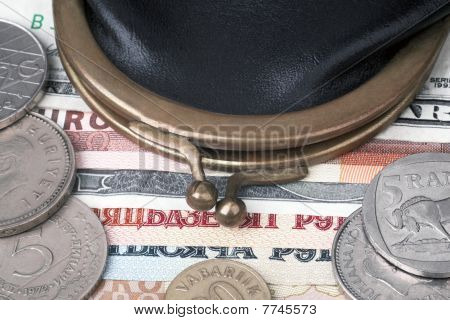 Money and purse