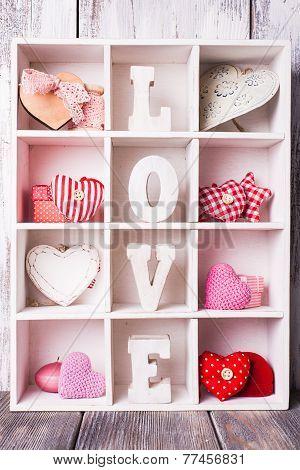 Vintage valentine set